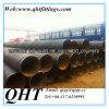 Q235B pour le pétrole, gaz, pipe en acier de charbon de spirale liquide de la distribution