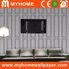Papier de mur de PVC de salle de séjour de fond (CAY107)