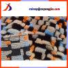 4 Farben-Jacquardwebstuhl-Gewebe mit Shrink-Merkmals-ungleicher Pelz-Qualität