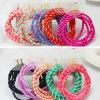 からかうツートーンColors Screw Elastic Hair Band Accessory (JE1551)を
