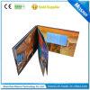 «brochure visuelle d'écran de l'affichage à cristaux liquides 7 avec des pages de Muiltipe