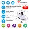 câmera do IP de WiFi da rotação da segurança 2.0MP PTZ do CCTV de 1080MP FHD para o uso Home