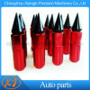20 PCS M12x1,5 sintonizador ampliado con púas de rojo y negro las tuercas de seguridad