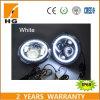 Farol LED de 7 para o farol Jk Wrangler Jk com luzes de sinalização Halo Angel Eye & Turn e DRL