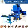 Automatische Lehm Brcik Presse-Ziegelsteine, die straßenbetoniermaschine-Block-Maschine der Maschinen-Hf4-10 hydraulische blockierenin Sri Lanka formen