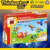 Brinquedo do edifício da extremidade aberta das crianças DIY de Thinkertoyland 3+