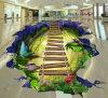 Autoadesivi personalizzati della parete di pubblicità/promozione del pavimento di stampa 3D