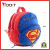 Meninos feito-à-medida da venda quente superman saco de escola macio do luxuoso