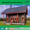 Wasserdichtes kleines Stahlfertighaus, niedrige Kosten-lebendes vorfabrizierter Behälter-hölzernes Haus
