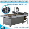 Modelo de pano máquina de corte mecânico da placa de plástico