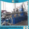 CaCO3 Mastbatch Color de relleno y PE compuesto de fibra de vidrio Máquina de granulación de la extrusora