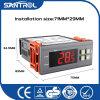 Controlador de temperatura de Digitas do indicador do LCD
