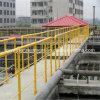 Poste de la cerca de la fibra de vidrio de la fibra de vidrio de GRP FRP para la industria