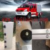 Porte en aluminium d'obturateur de roulement pour des camions de pompiers, des pompes à incendie, des fourgons, des camions et d'autres véhicules