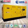 Hochleistungs180kw elektrischer schalldichter Dieselgenerator des Dieselmotor-225kVA