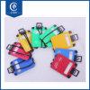 手荷物要求のための卸し売り旅行シリコーンPVC形の荷物の札