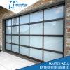 L'alluminio motorizzato ha isolato il vetro Tempered glassato/portello ambientale a piena vista garage di vetro organico/del policarbonato