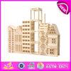 Горячая продажа экологически безвредные Non-Toxic деревянные блоки игрушек для детей, деревянные игрушки здание игрушки для детей, деревянные игры, W03b014