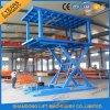 Système de stockage de garage à ciseaux à cylindre hydraulique