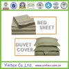 sistema suave de la hoja de cama del algodón 1200tc