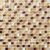 Il disegno di vetro facile del mosaico di buoni prezzi di Foshan descrive il reticolo