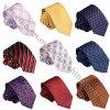 Vente en gros de soie coréenne soie Jacquard Weave Narrow Ties pour chemises