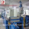 Linha de formação de espuma química máquina da extrusão do cabo gêmeo das camadas da fabricação de cabos