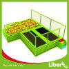 Binnen Vrije het Springen van het Park Lopende Trampoline met Aangepast Ontwerp