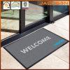 Diseño modificado para requisitos particulares impreso haciendo publicidad de la estera antideslizante decorativa de la insignia del suelo de la entrada
