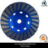 roda do copo de 4 '' /100mmturbo para a moedura concreta de superfície