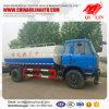 Wielbasis 4700mm de Tankwagen van het Water van het Roestvrij staal voor Mongolië