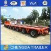 Du Multi-Essieu 200t de transport de matériel de Lowbed remorque lourde semi