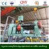 Tecnología punta de goma reciclada Refinador de hacer hoja