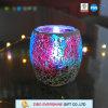 De nieuwe Stijl kleurde de Gebarsten Houder van de Kaars van het Glas
