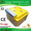 Incubateur d'incubation des oeufs 96 Hatcher Machine automatique Prix (KP-96)