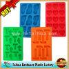 Кубик льда силикона промотирования изготовленный на заказ, резиновый поднос кубика льда (TH-bg001-1)