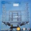 Container van het Netwerk van de Draad van het Staal van het metaal de Vouwbare die voor Opslag wordt gebruikt