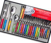 24PCS 색깔 플라스틱 손잡이 Laguiole 식기 (SE-K326)