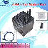 GSM Modem Pool 4 SIM Slots Wavecom Module Q24plus