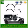 Jeep Wrangler Cc extendido del guardabarros de aluminio Kits de destellos de luz