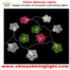 금속 장식 꽃 디자인 LED 정원 빛