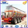 3 dell'asse 52cbm del petrolio greggio/benzina/benzina/combustibile di autocisterna del camion rimorchio pratico di alluminio semi