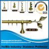 Занавес Поляк установил с Finials для домашнего украшения, вспомогательным оборудованием 28mm штанги занавеса, надувательством трубы занавеса горячим в Muslim