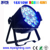 ディスコの照明、DJの照明のための1の屋内DMX LEDの同価ライト18X10W RGBW