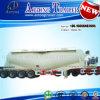 4 assen 70cbm de Semi Aanhangwagen van de Vrachtwagen van de Tanker van Bulker van het Cement