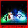 LED 크리스마스 눈사람 훈장 빛