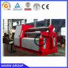 Type quatre machine à cintrer W12S-10X4000 d'AP de plaque de rouleau