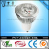 5X2w 110-240V chauffent la lumière blanche de GU10 LED