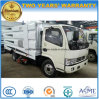 Barredora de vacío de 5.000 litros de camiones de limpieza de carretera
