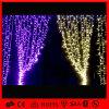 다채로운 크리스마스 LED 훈장 커튼 빛